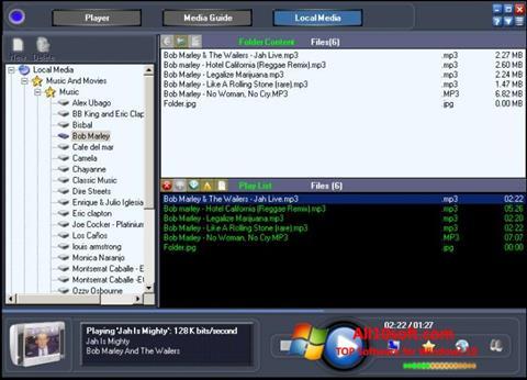Ekrano kopija Online TV Live Windows 10