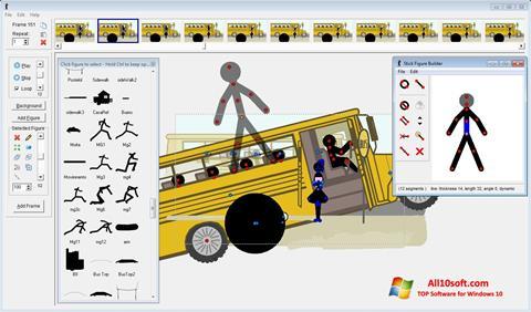 Ekrano kopija Pivot Animator Windows 10