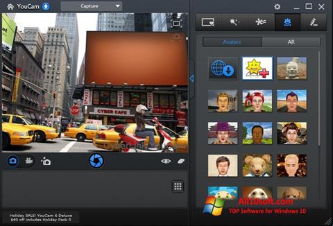 Ekrano kopija CyberLink YouCam Windows 10
